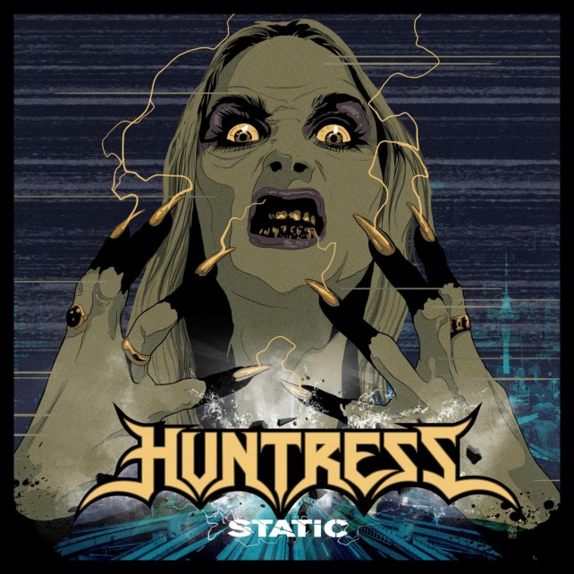 huntress - static album cover