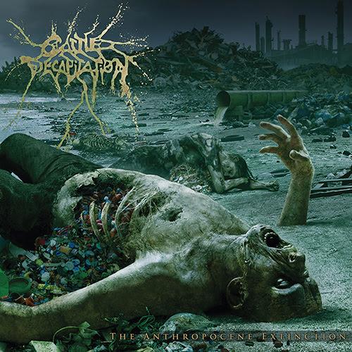 cattle decapitation - the anthropocene extinction - album cover