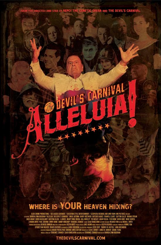 alleluia the devils carnival tour poster 2
