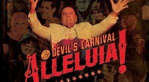 alleluia the devils carnival tour poster 2