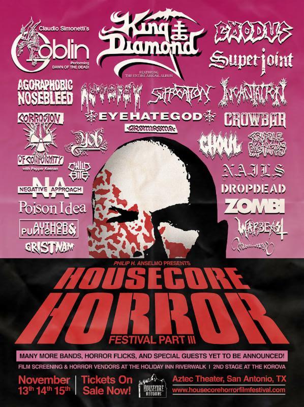 housecore horror fest iii poster