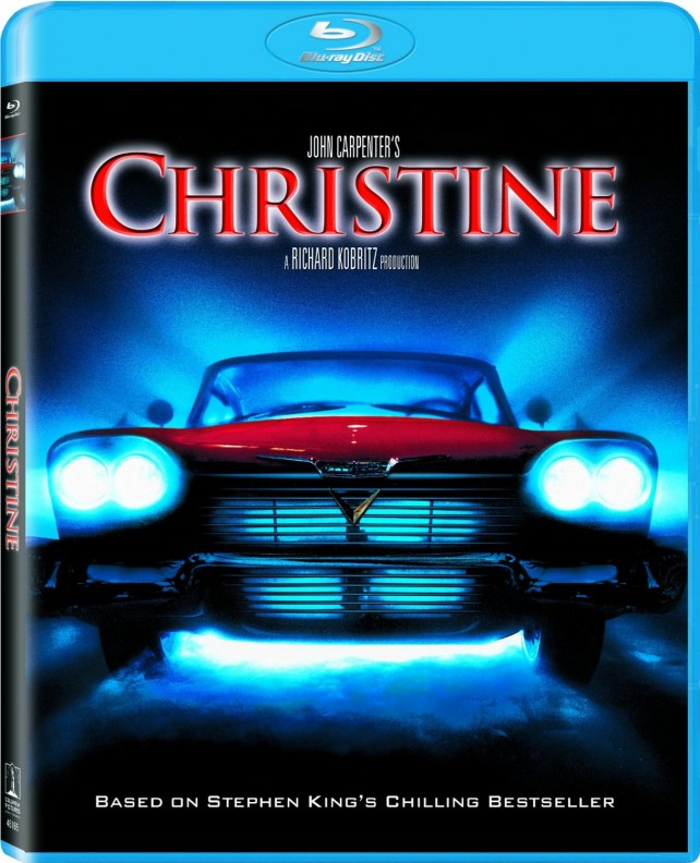 Christine Blu-ray cover