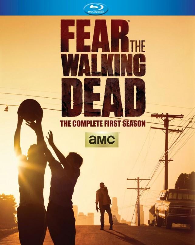 fear the walking dead complete season 1 box art
