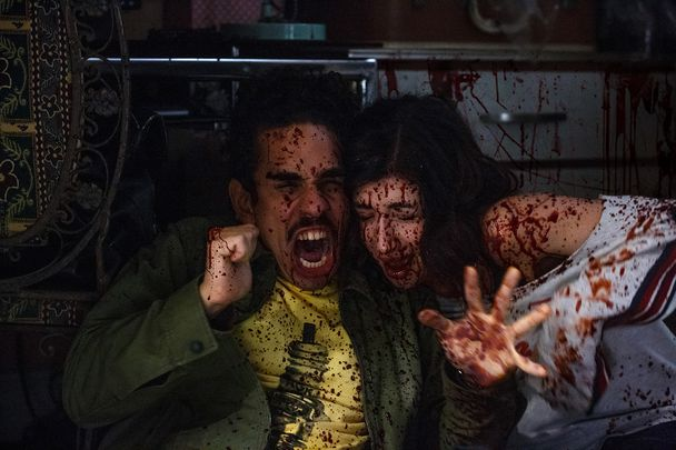 ash vs evil dead bait - kelly pablo bloody
