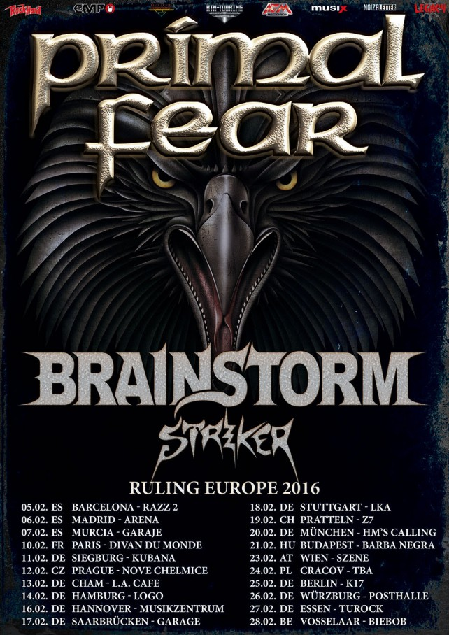 striker tour poster 2016