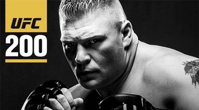 UFC 200: Brock Lesnar