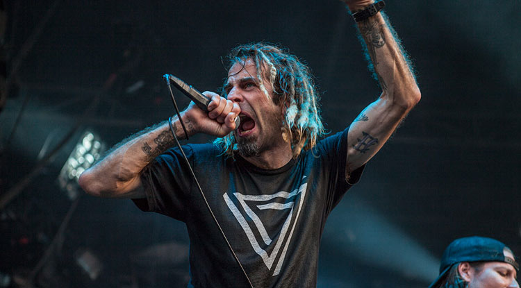 Randy Blythe - Lamb of God (Amenisia Rockfest)