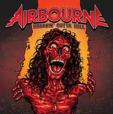 airbourne breakin outta hell album cover