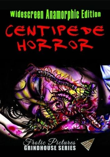 frolic pictures centipede horror poster