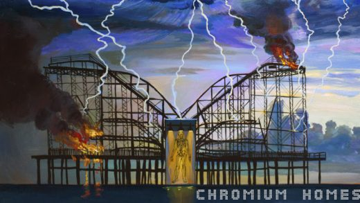 black wail chromium homes album cover 750
