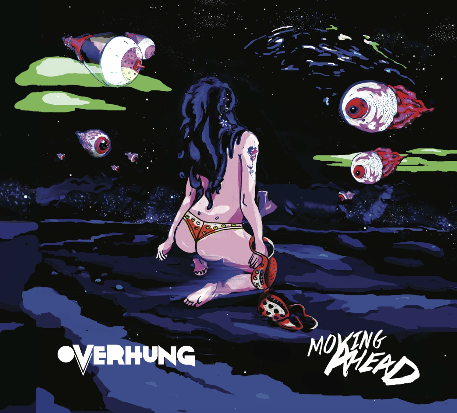 overhung moving ahead album cover