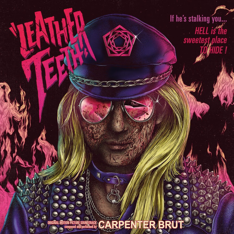 carpenter brut leather teeth cover