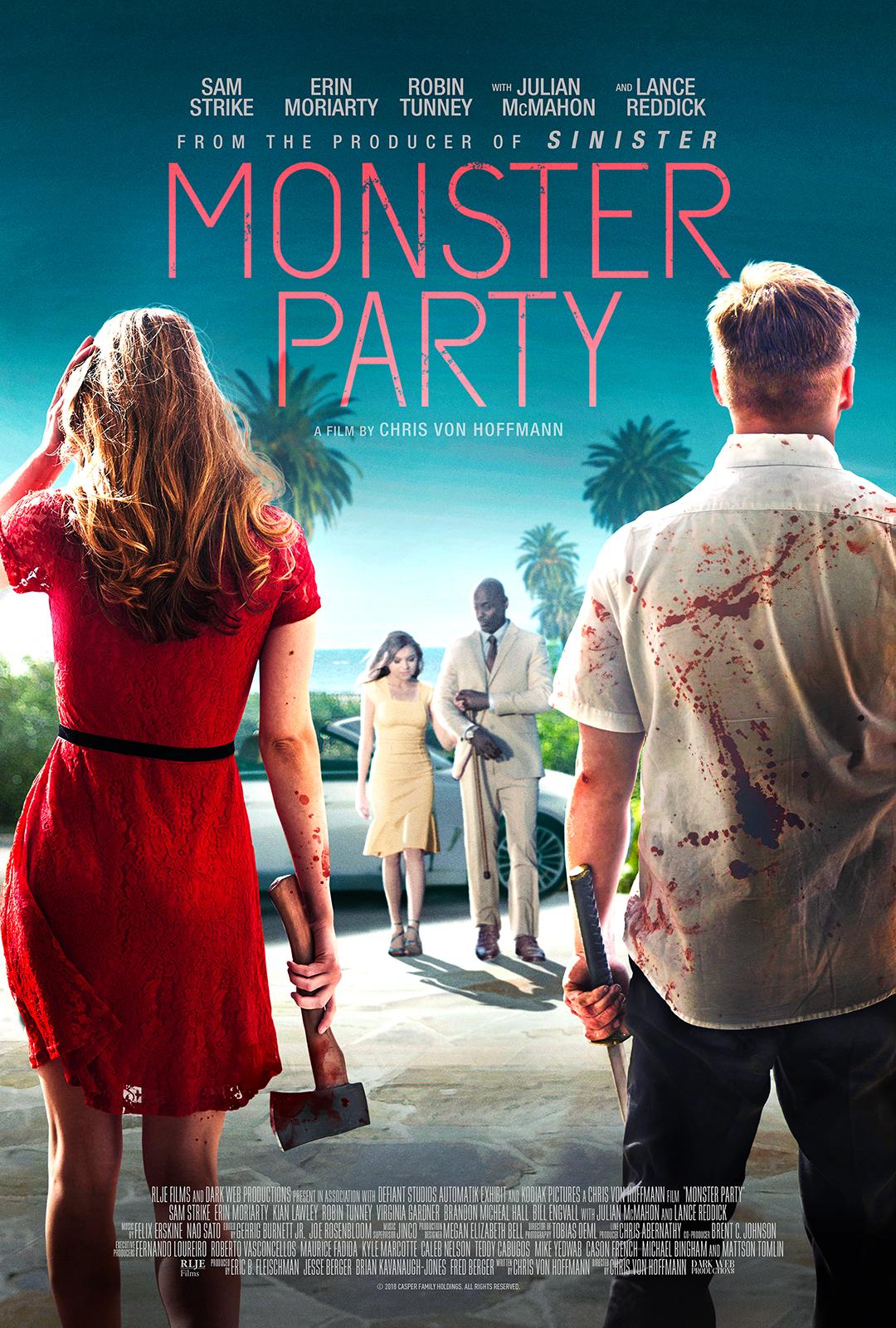 monster party key art